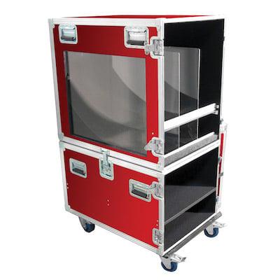 Red Custom ATA case