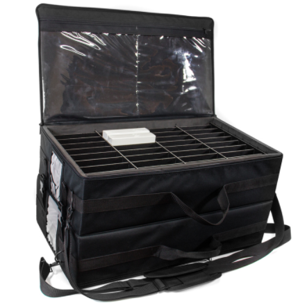 soft-sided carrying case